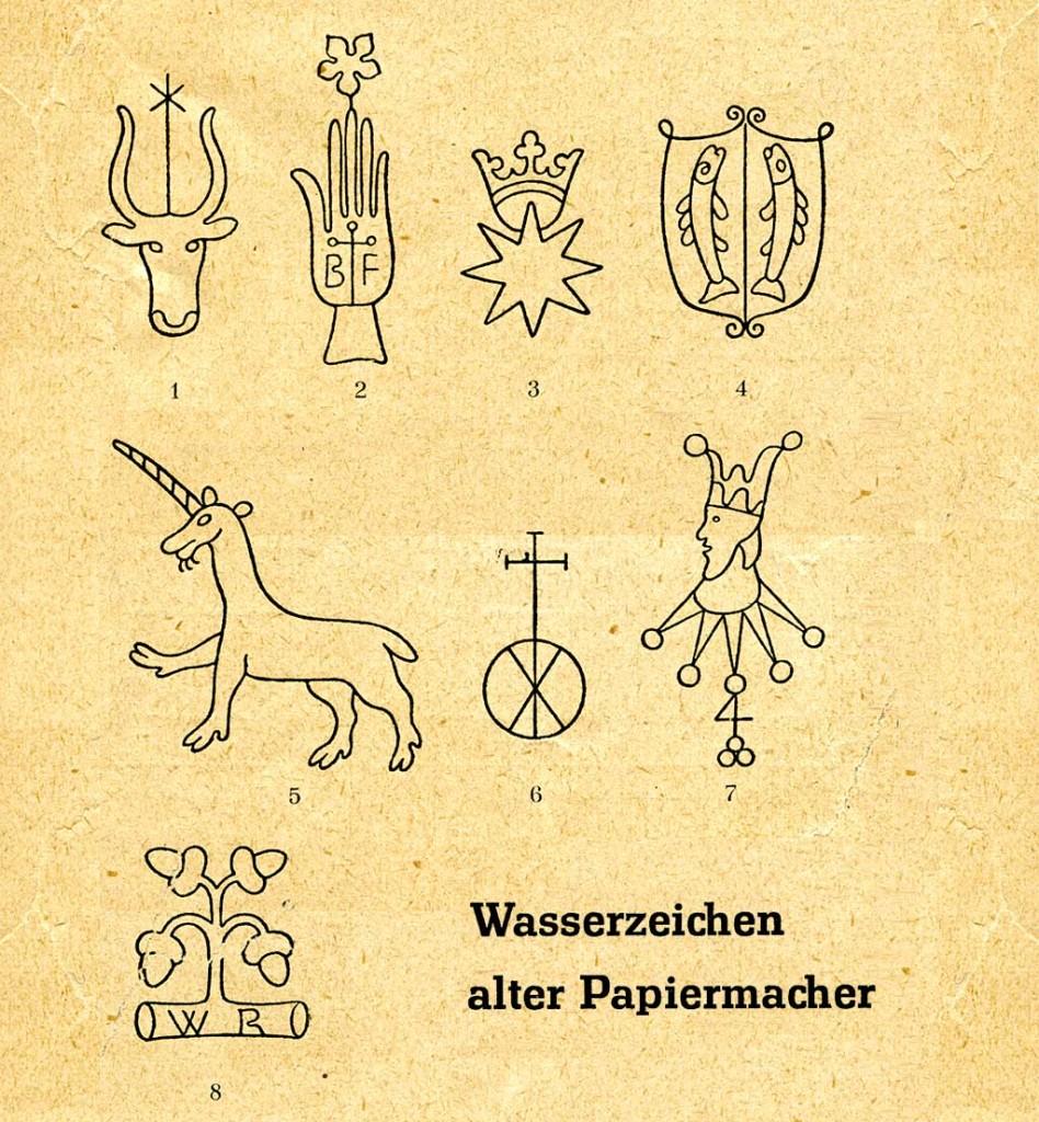 Wasserzeichen_alter_Papiermacher_